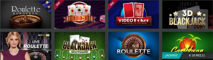 mybet blackjack e roleta