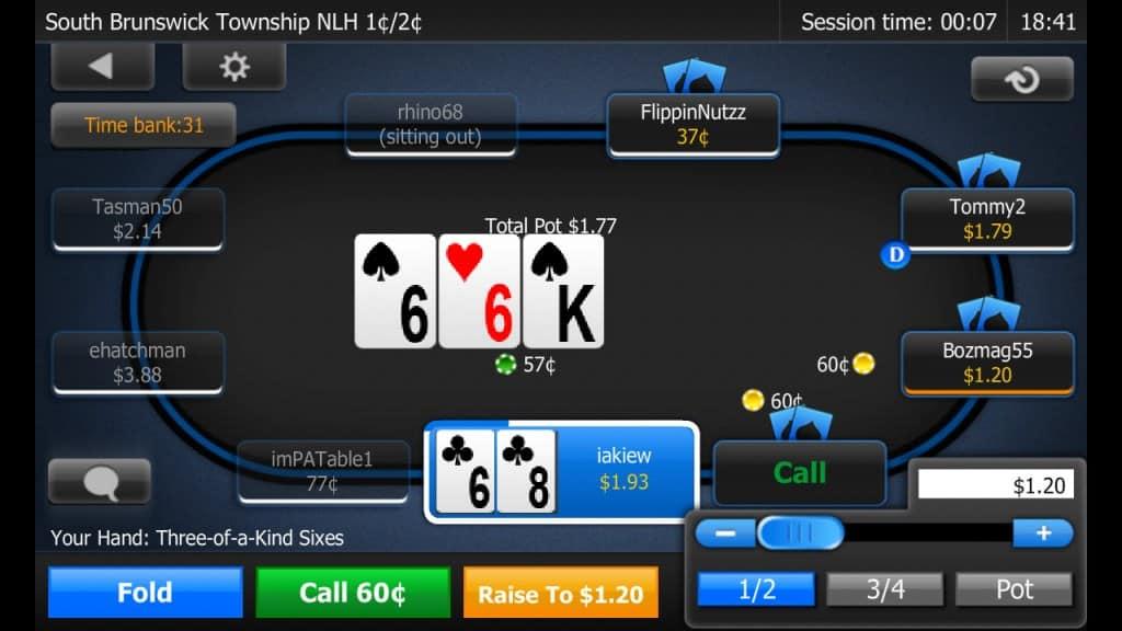 sites de poker torneio