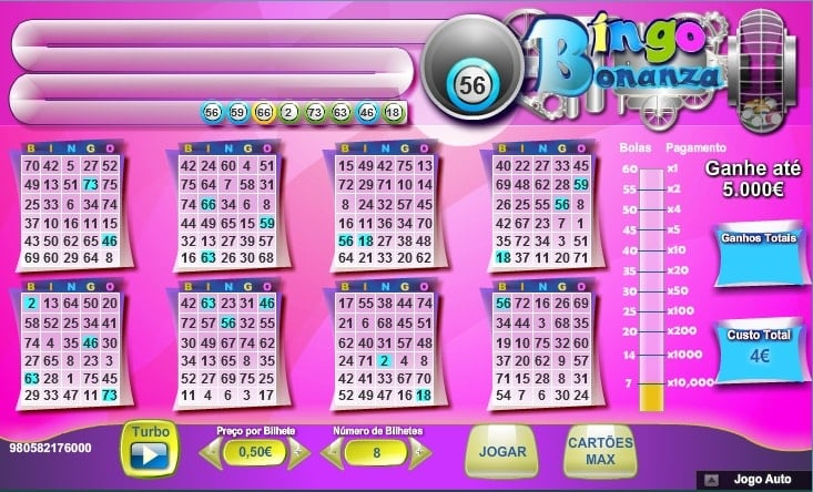 vídeo bingo