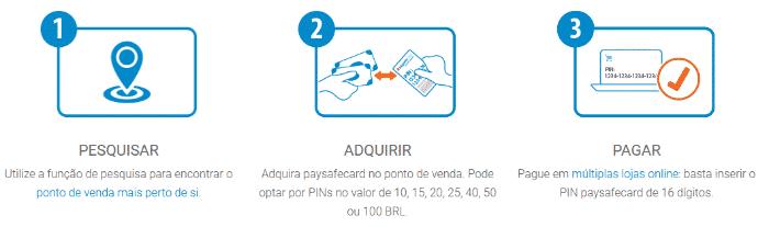 Apostas online paysafecard