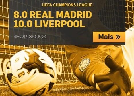 melhores odds fina champions league