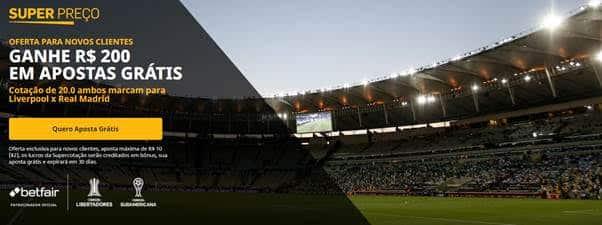 bônus Liverpool e Real Madrid