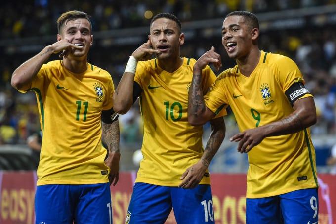 atacantes brasil