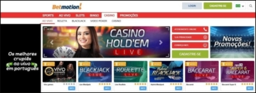 Home do Betmotion Casino