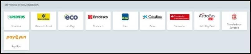 São 10 as formas de pagamento e saque recomendadas pelo 22bet