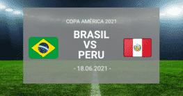 bandeira Brasil e Peru