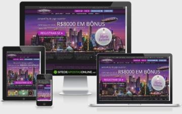 JackpotCity Casino adapta-se bem a diferentes telas.