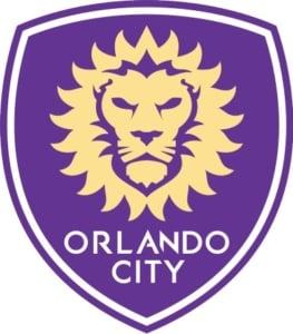 Escudo oficial do Orlando City SC, da MLS