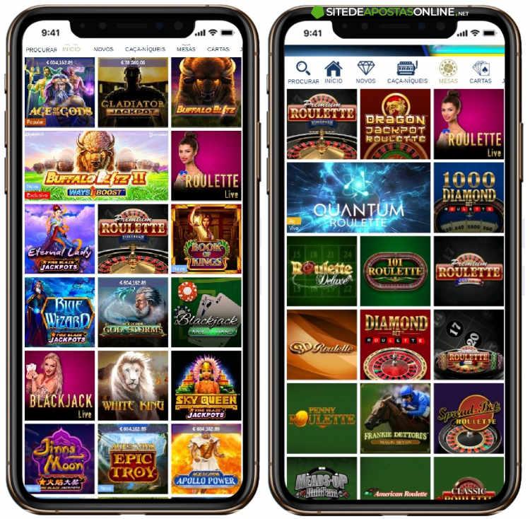 telas do europa casino mobile