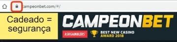 Site do Campeonbet é confiável e seguro