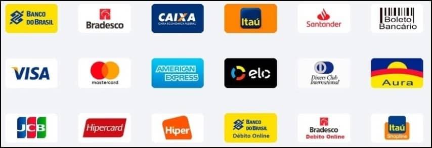 Pay4Fun oferece diversas formas de depósito
