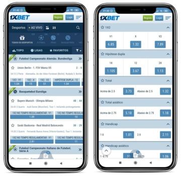 captura de tela no 1xbet no celular