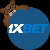 mascote Betto e 1xbet