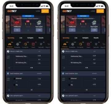 GGBET tem bom desempenho em Android e iOS