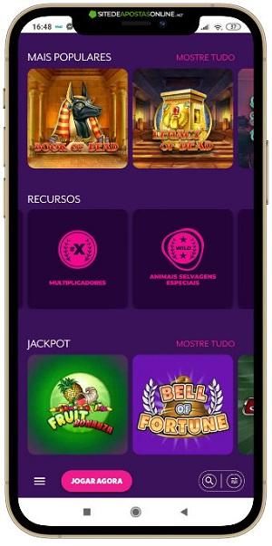 filtros de jogos por recursos