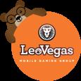 logotipo leovegas com Betto urso