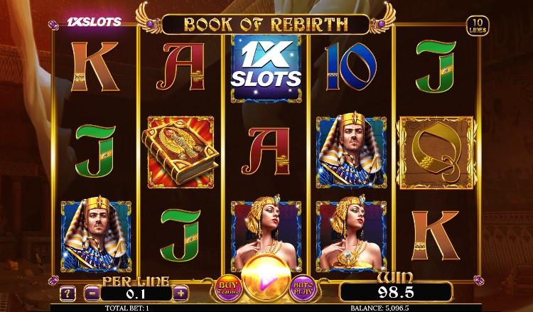 tela do jogo Book of Rebirth