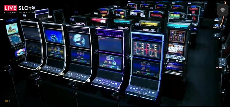 máquinas reais caça-níquel ao vivo