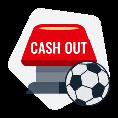 botão de cash out