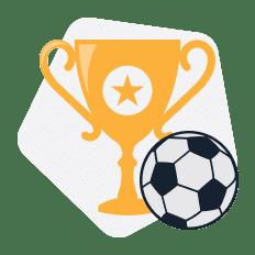 troféu bola de futebol